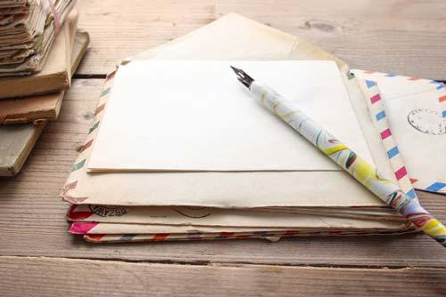 手紙を書く前にチェック!筆記用具について
